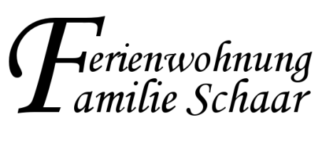 Ferienwohnung Schaar, Logo Ferienwohnung, Familie Schaar Ferien